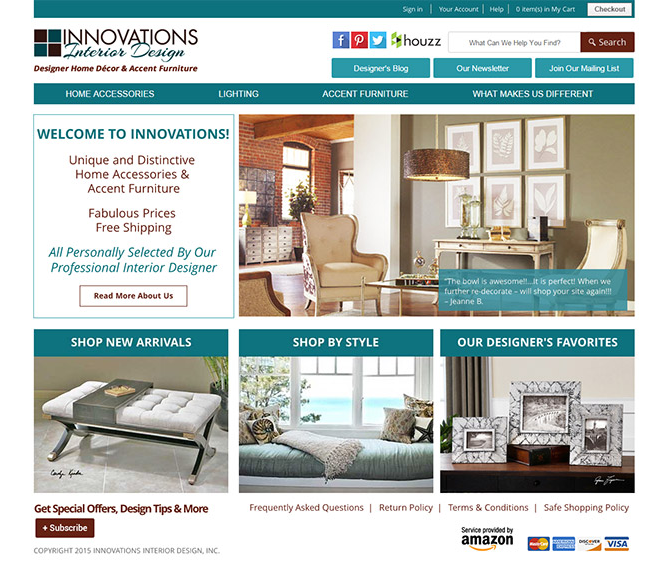 Innovations Designer Home Decor