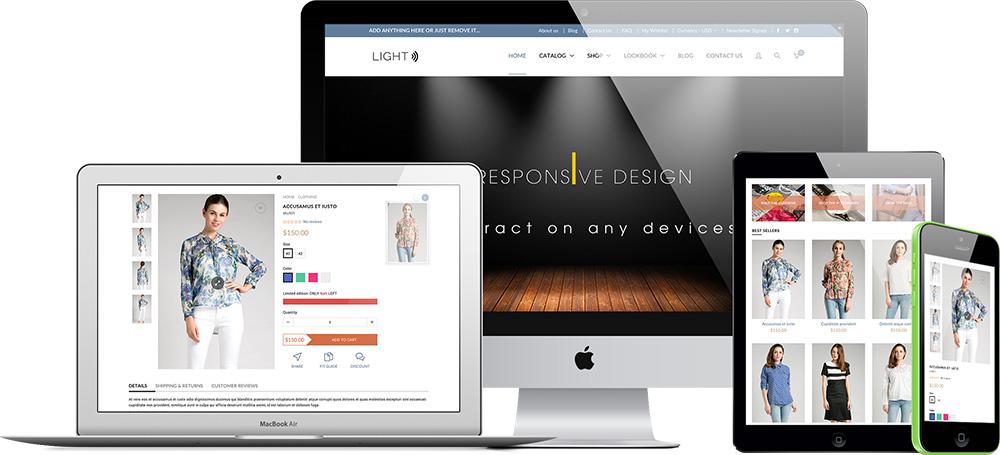 Light Shopify Premium Template