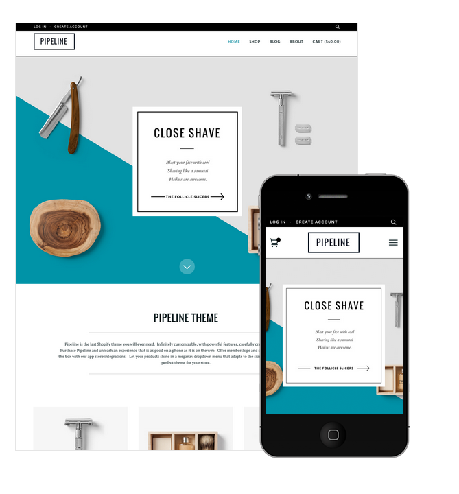 Pipeline Shopify Premium Template