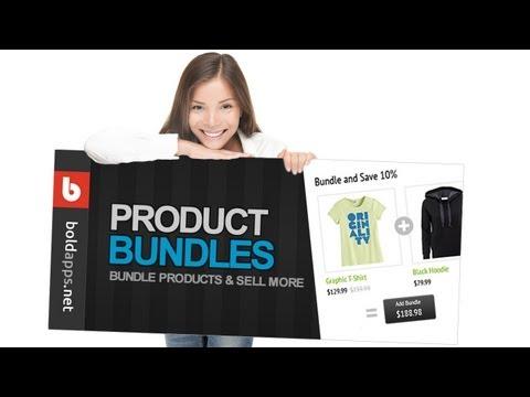 Product Bundles Shopify Bold App