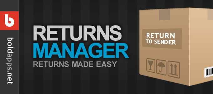 Returns Manager Shopify Bold App