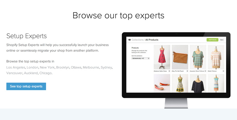 Shopify Experts Directory