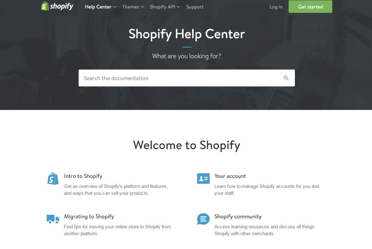 Shopify Manual