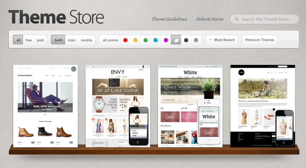 Shopify Themes & Designs