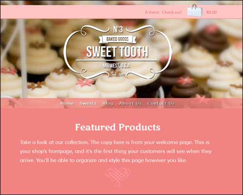 Sweet Tooth Shopify Premium Template