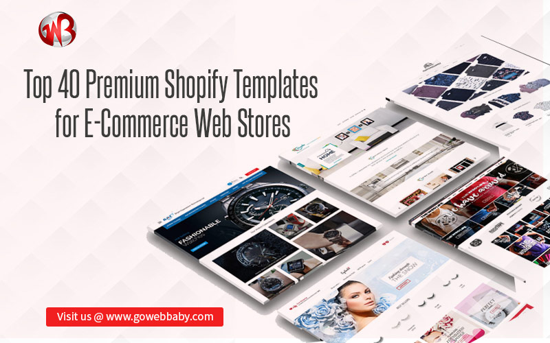 Top 40 Shopify Templates