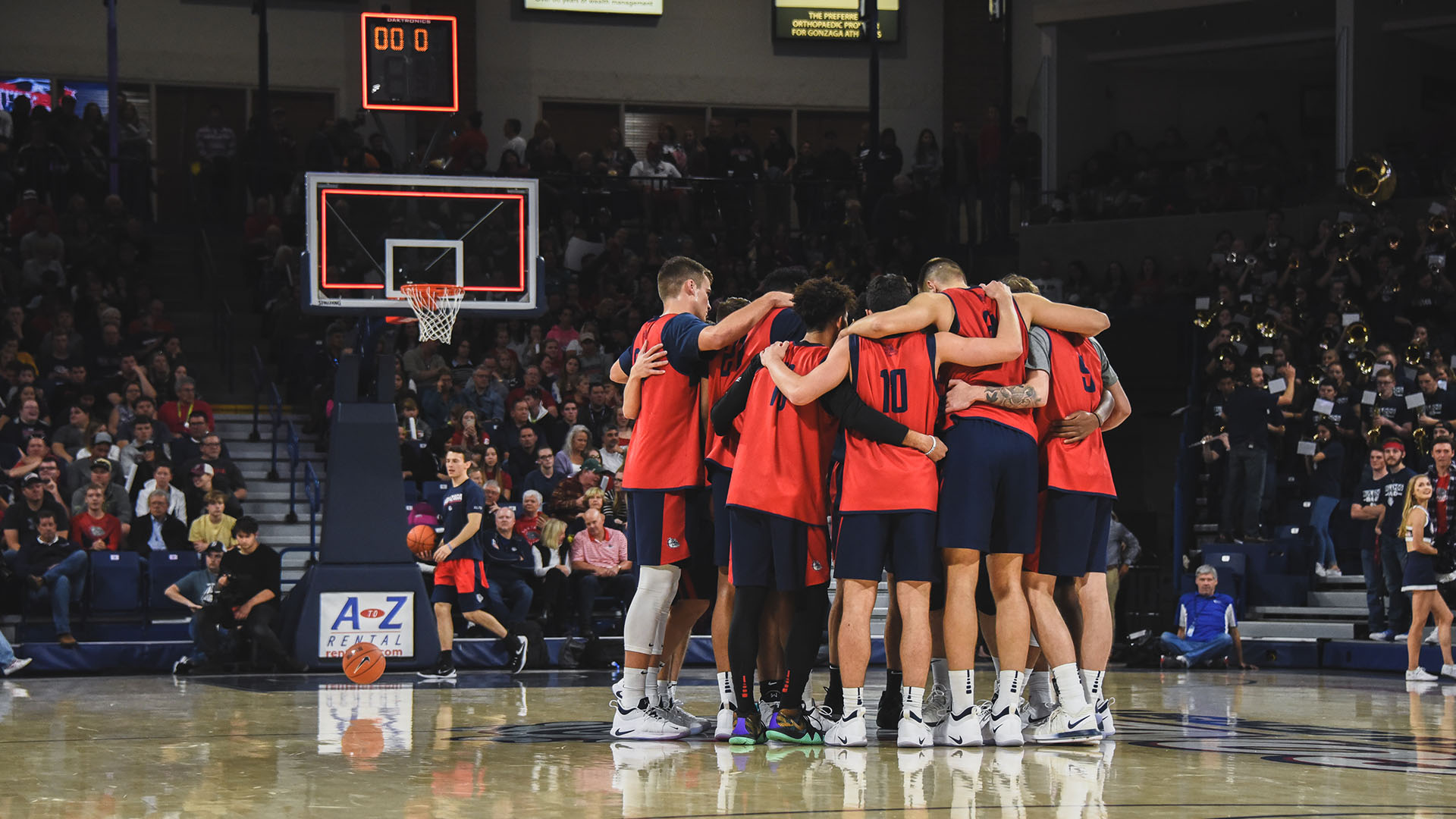 men's basketball television schedule announced - gonzaga university