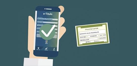 Resultado de imagem para Eleições 2018: entenda como funciona o aplicativo e-título, lançado pelo TSE