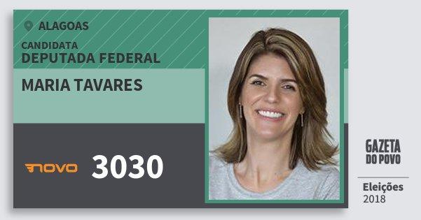 Santinho Maria Tavares 3030 (NOVO) Deputado Federal | Alagoas | Eleições 2018