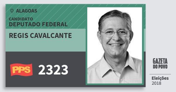 Santinho Regis Cavalcante 2323 (PPS) Deputado Federal | Alagoas | Eleições 2018