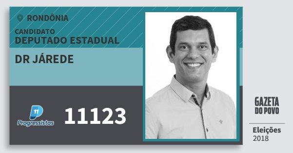 Santinho Dr Járede 11123 (PP) Deputado Estadual   Rondônia   Eleições 2018