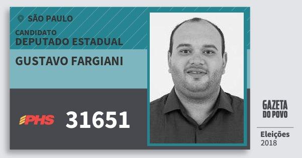 Resultado de imagem para Gustavo Fargiani (PHS)
