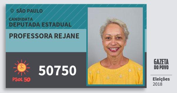 Resultado de imagem para Professora Rejane (PSol)