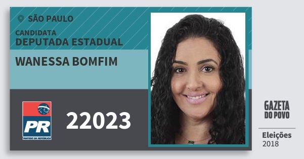 Resultado de imagem para Wanessa Bomfim (PR)