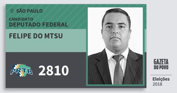 Resultado de imagem para Felipe do MSTU (PRTB)