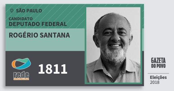 Resultado de imagem para Rogério Santana (Rede)
