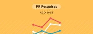 Pesquisa Paraná Pesquisas Eleições 2018 Gazeta do Povo
