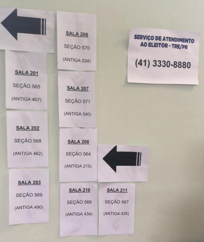 Alteração de seções confunde eleitores e gera filas em locais de votação em Curitiba