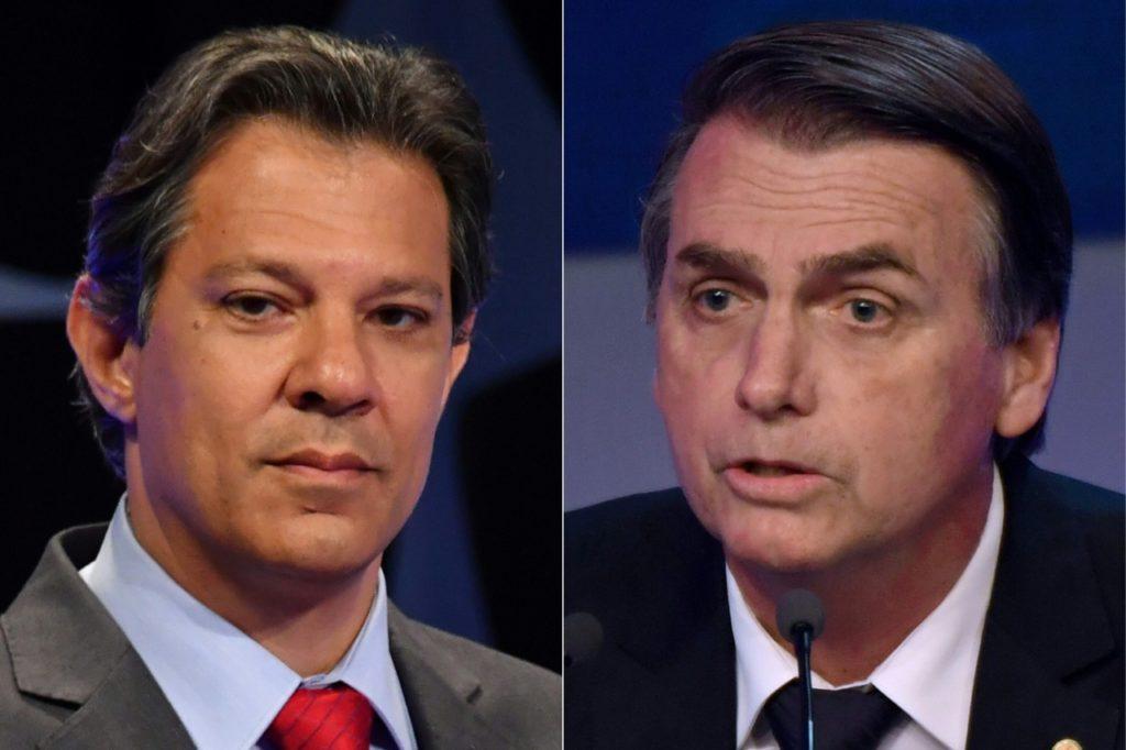 As trajetórias de Bolsonaro e Haddad até o segundo turno das Eleições 2018