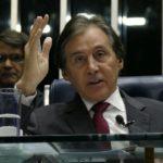 O presidente do Senado, Eunício Oliveira (MDB), foi um dos que não se reelegeu.