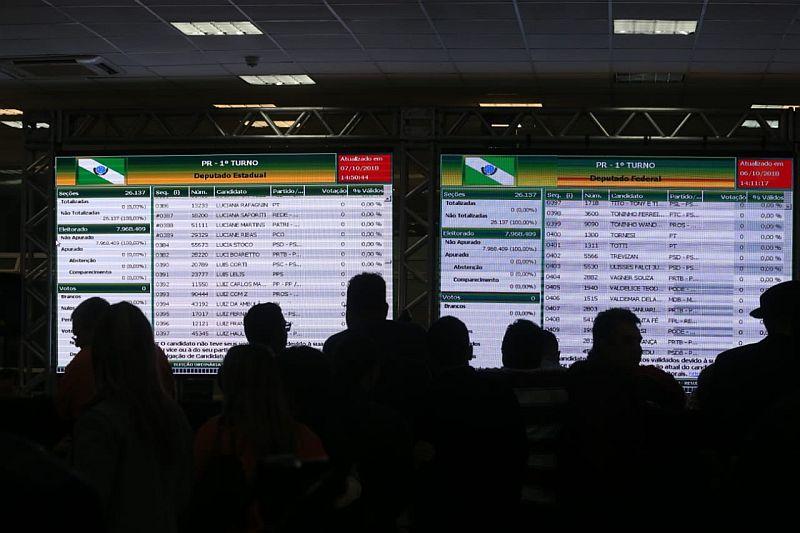 Com problemas técnicos, Paraná perde posto de estado mais rápido na apuração
