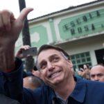 O candidato a presidente Jair Bolsonaro (PSL) foi o mais votado no primeiro turno.