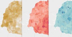Veja como foi a votação para presidente no 1º turno das Eleições 2018 nos municípios do Paraná. Selecione o seu município para ver o resultado de cada candidato, ou selecione um candidato para ver onde ele foi mais votado.