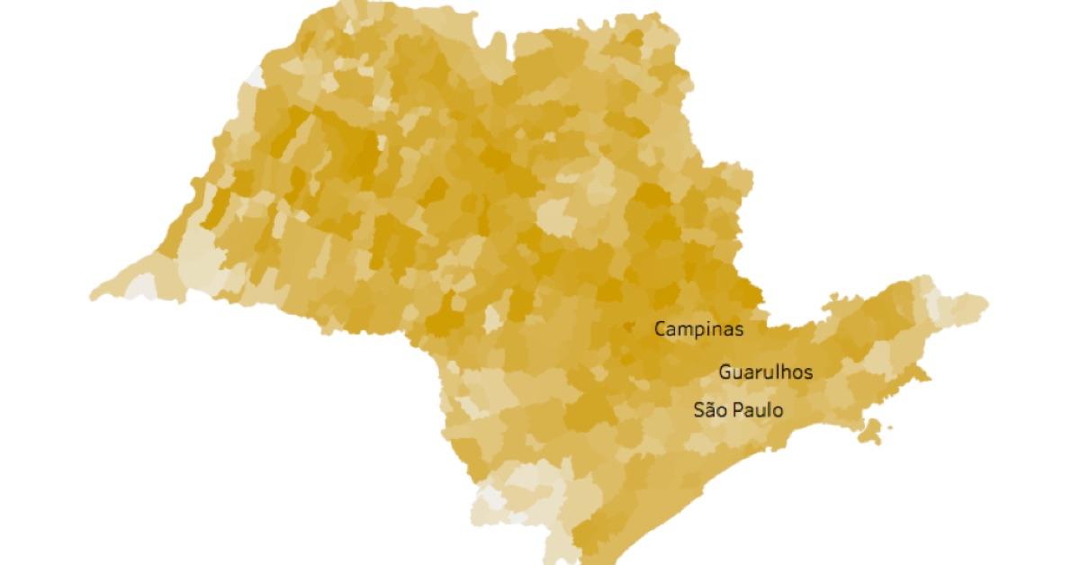 Veja como foi a votação para presidente no 1º turno das Eleições 2018 nos municípios de São Paulo. Selecione o seu município para ver o resultado de cada candidato, ou selecione um candidato para ver onde ele foi mais votado.