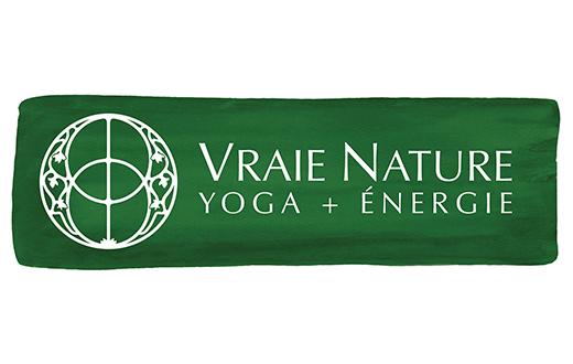 Vraie Nature Yoga + Énergie Logo
