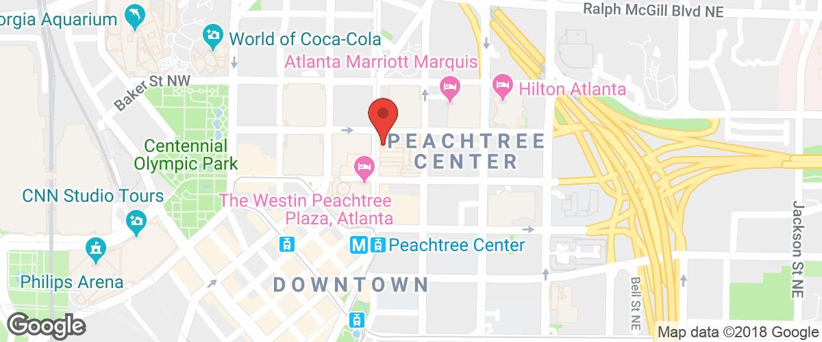 Location: 229 Peachtree Street, Atlanta, GA 30303