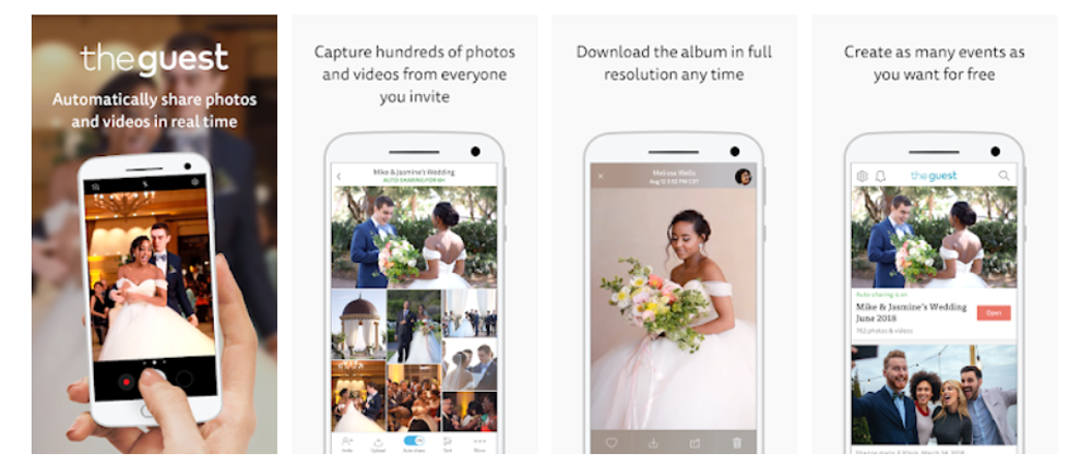 The Knot Wedding Photo App Screenshot