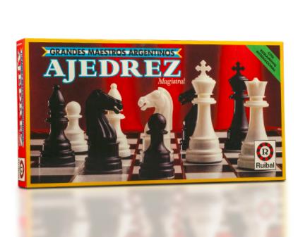 Juego De Mesa Ruibal Ajedrez Grandes Maestros Rojo Ruibal