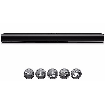Philips Soundbar Parlante Philips HTL1190BX/77 Bluetooth Barra Sonido