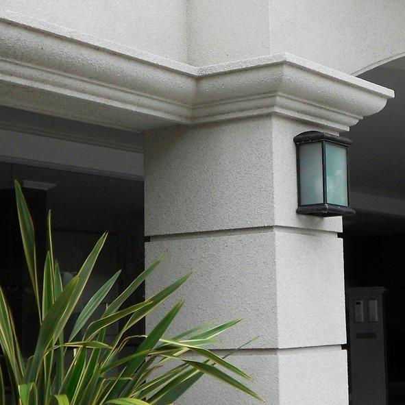 Moldura para exterior cornisa guarda revear mg68 moldext - Molduras para paredes exteriores ...