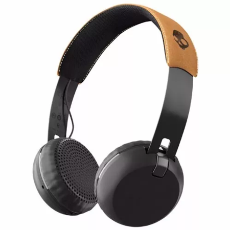 Skullcandy Auriculares Skullcandy Grind Wireless On-ear Black/tan