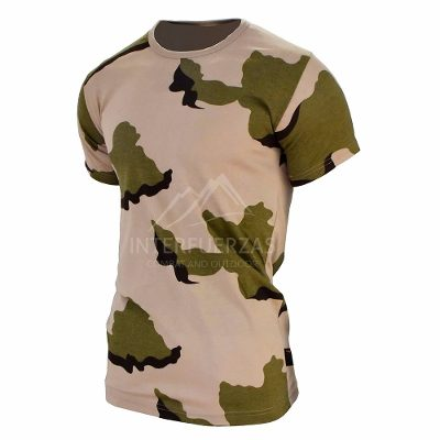 Remeras y Musculosas - Interfuerzas Remera Camuflado Desert 3 Colores