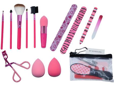Combos de maquillaje - Clube27 Set de Brochas Make up Clube27 - C15