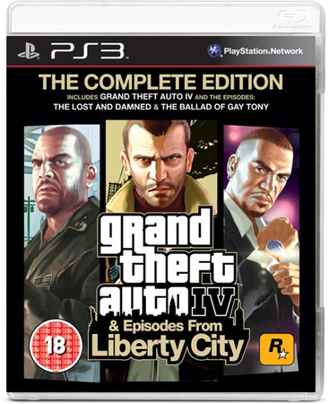 Avenida Store GTA Grand Thef Auto IV Complete & Episodes Liberty City para PS3