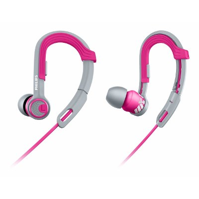 In-Ear - Philips Auriculares Philips SHQ3300PK/00 Actionfit Deportivos