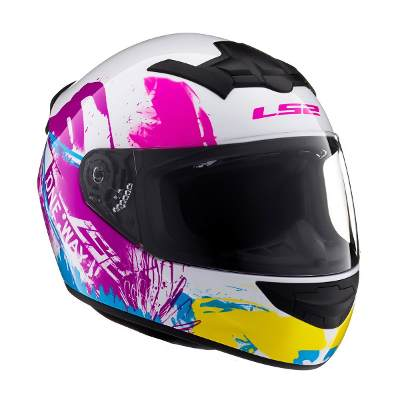 Indumentaria - LS2 Casco 352 One Blanco