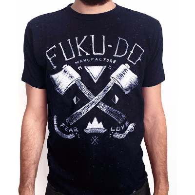 Remeras y Musculosas - Fuku-Do Remera Hachas Fuku-do