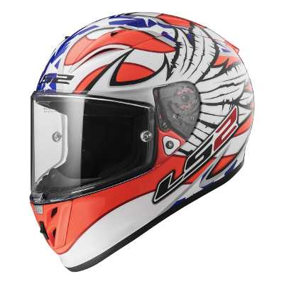 LS2 Casco 323 Arrow Freedom Replica Yonny Hernandez