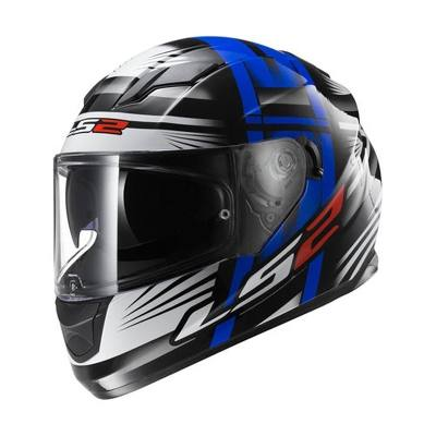 LS2 Casco Integral Ls2 Ff 320 Bang Black Blue Doble Visor Uv