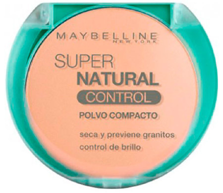 Maybelline Polvo Compacto Maybelline Super Natural Control