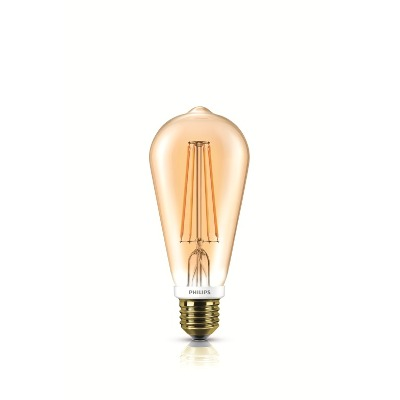 Philips Lampara Led Filament Philips 50w E27 Luz Cálida 929001228942
