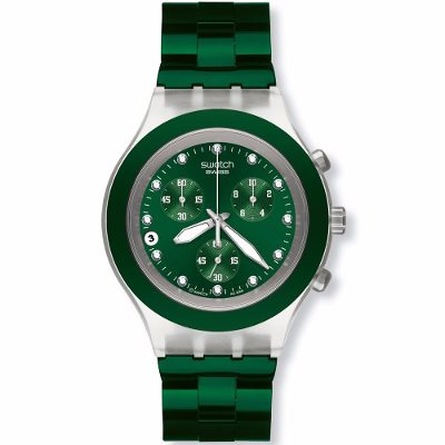 Relojes - Swatch Reloj Swatch Full-blooded Green Svck4043ag