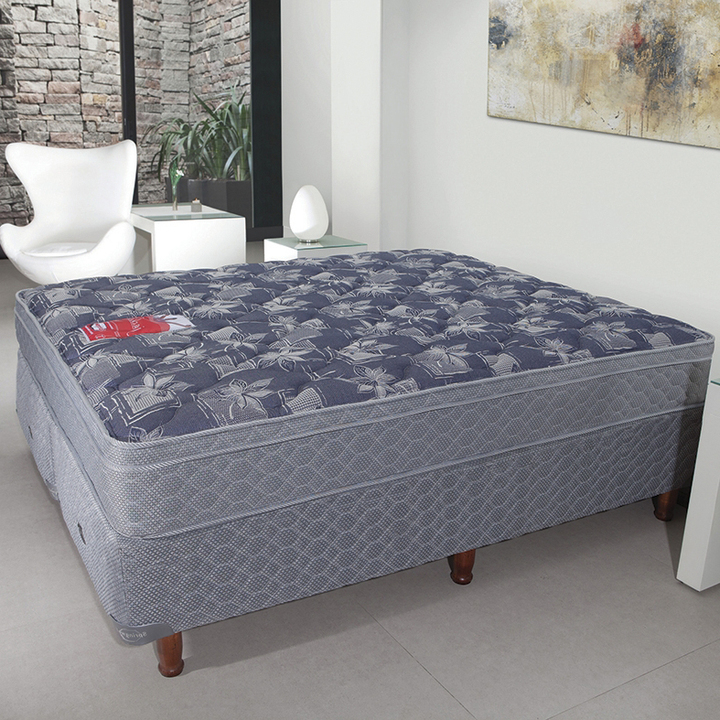 colch n y sommier de 200x200 springwall mcb 115 con base. Black Bedroom Furniture Sets. Home Design Ideas