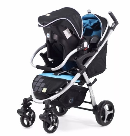 Cochecitos - Glee Travel System Glee con huevito A59TS
