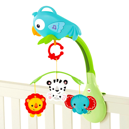 Fisher Price Movil musical 3 en 1 Rainforest friends Fisher Price CHR11
