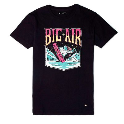 Jooks Remera Big Air Marca Jooks Icon Slim Fit Mod: 3026